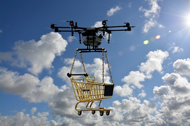 drone delivery ecommerce