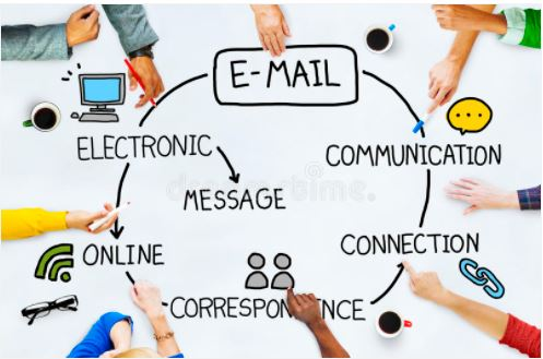 email touchscreen