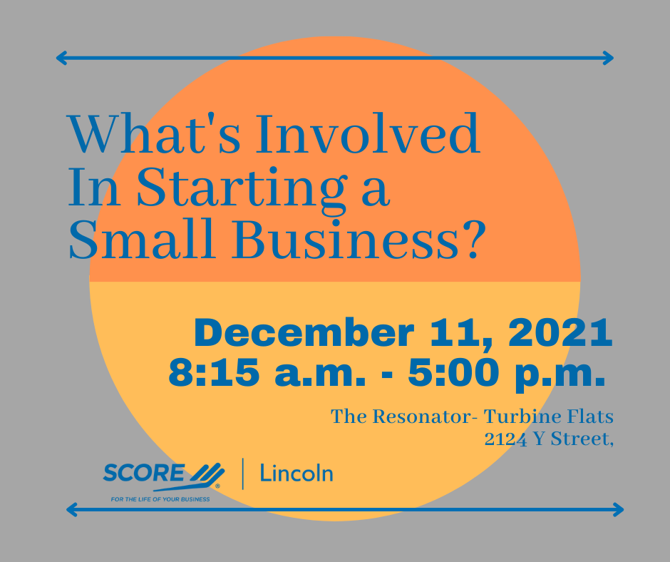 What's Involved In Starting a Small Business?