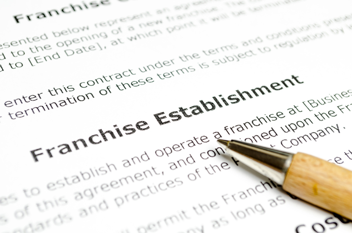 franchise establishment contract
