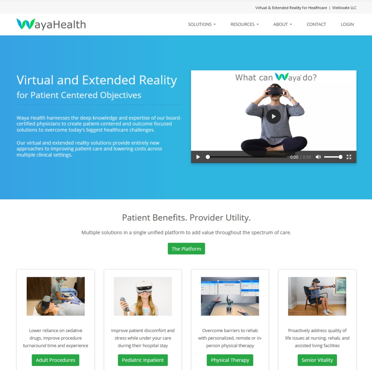 Wayahealth Solution