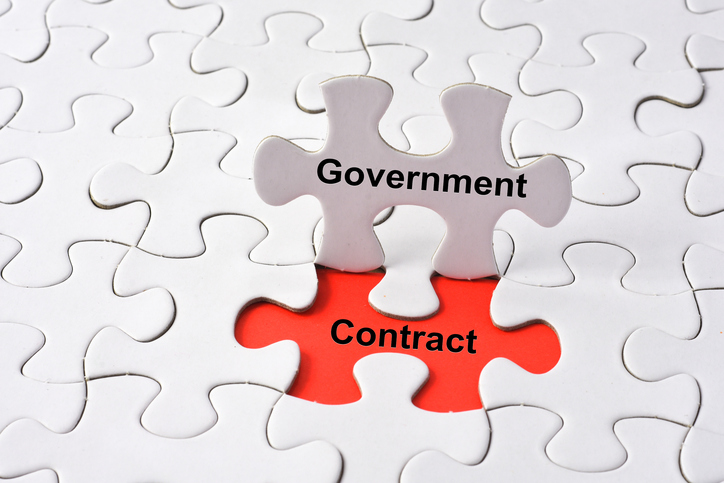 government contract puzzle