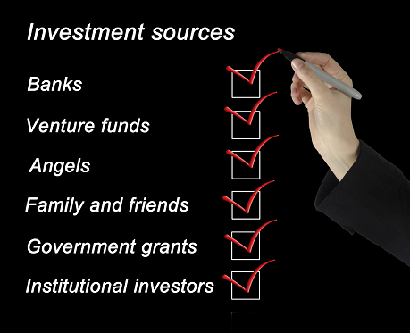 business funding sources