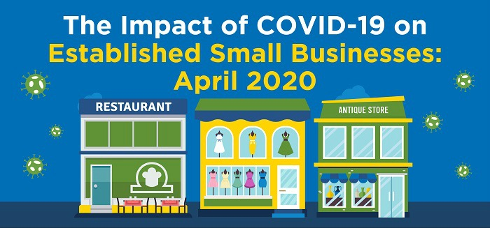 Infographic: The Impact of COVID-19 on Established Small Businesses - April 2020