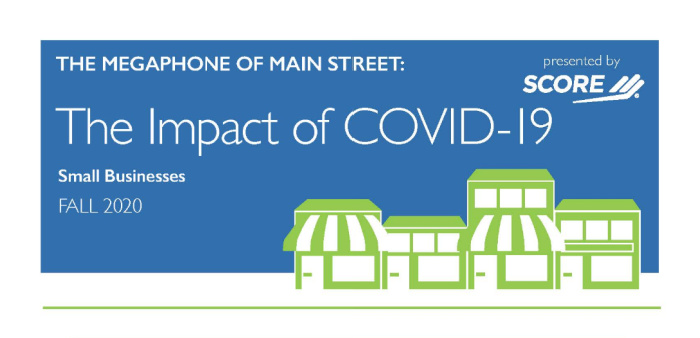 The Megaphone Of Main Street: The Impact of Covid-19, Infographic #3 - Impact on Small Businesses