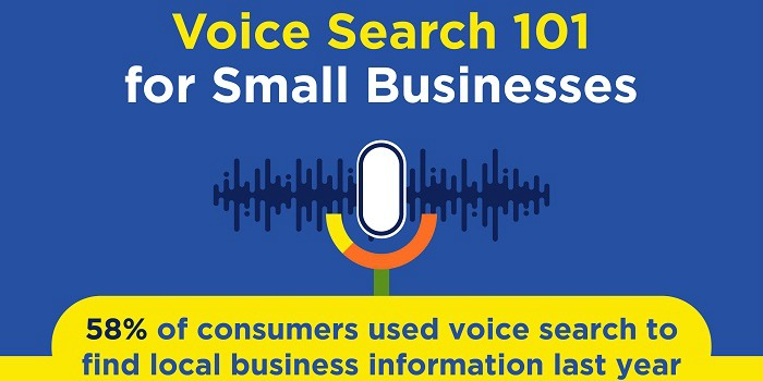 Infographic: Voice Search 101 for Small Businesses