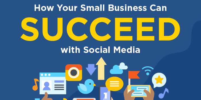 Infographic: How Your Small Business Can Succeed with Social Media