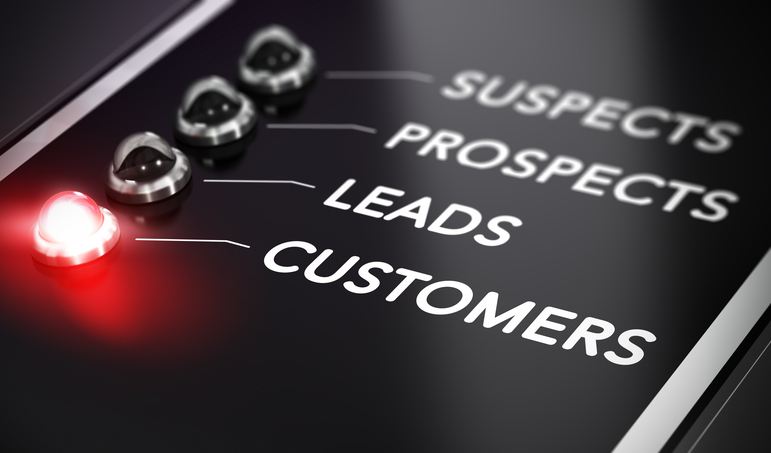 leads prospects and customers