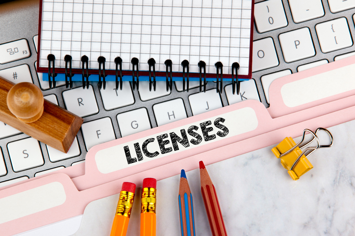 Record of License and Permit Process Template