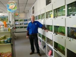 Eric Majors, Owner, Seven Seas Pet Store