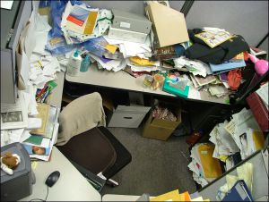 National Clean Off Your Desk Day!