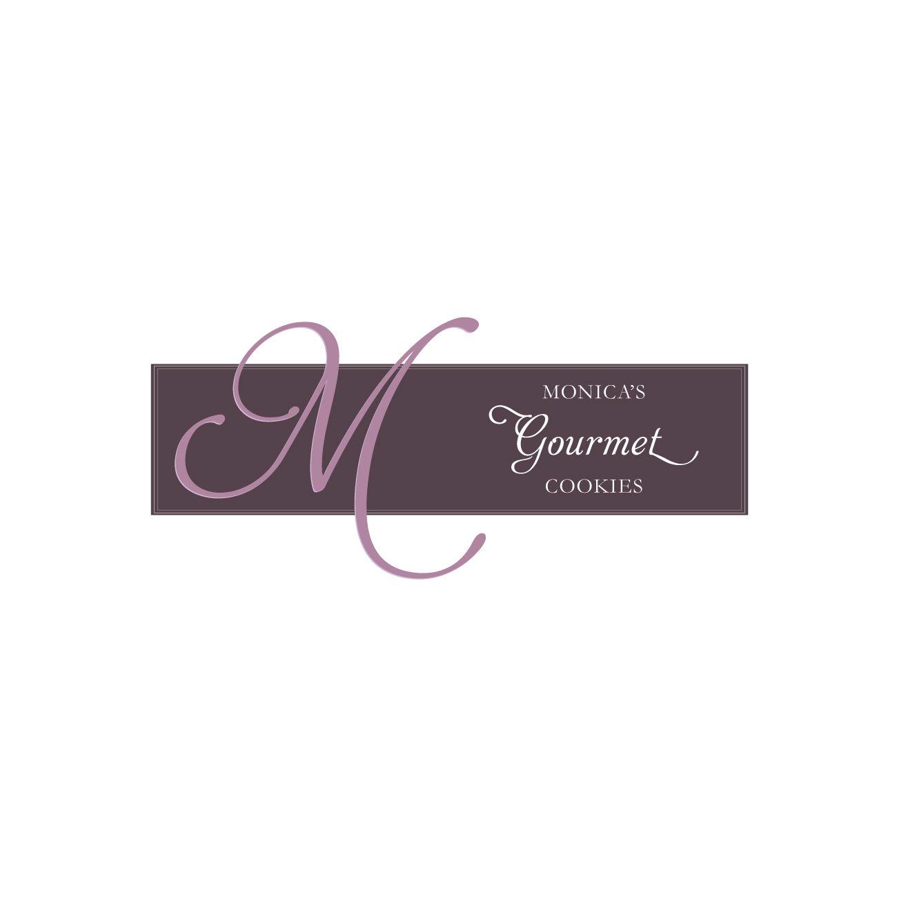 Monica's Gourmet Cookies logo