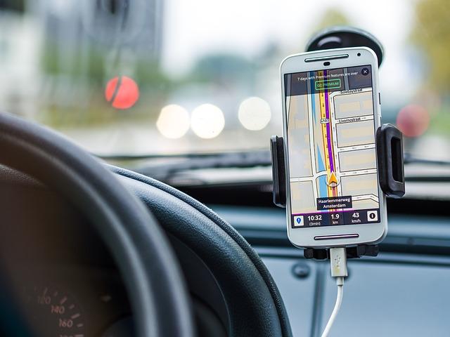 GPS guiding system
