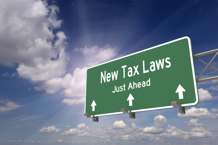 new tax laws sign