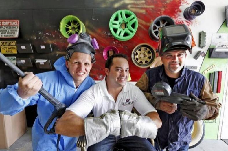 Small business makeover: Bullseye Powder Coating