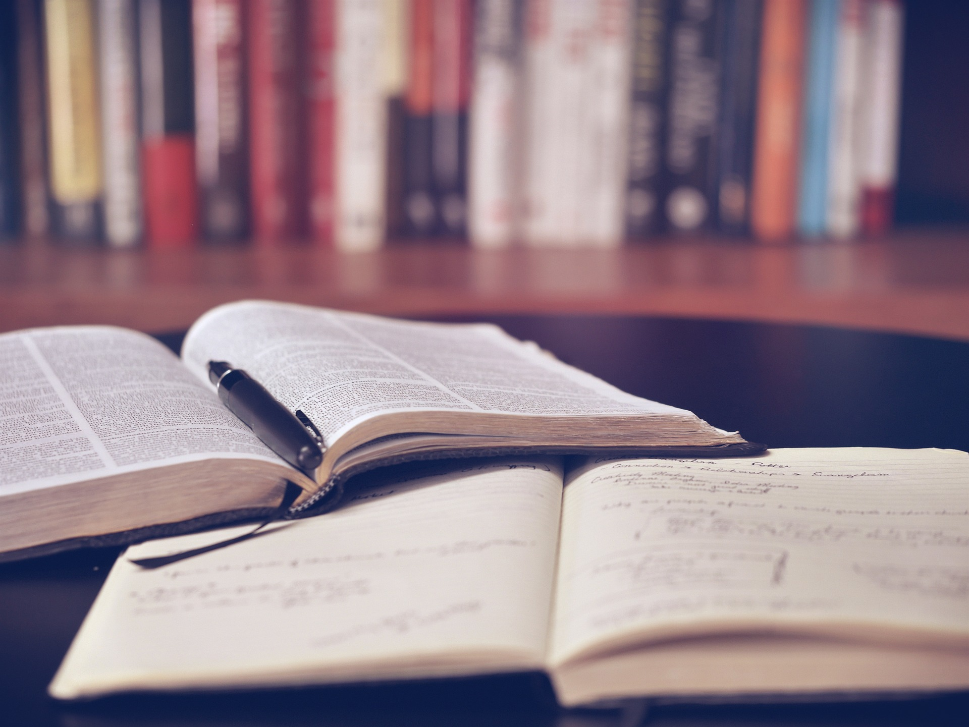 open books in a library, why the Reading Public Library can help