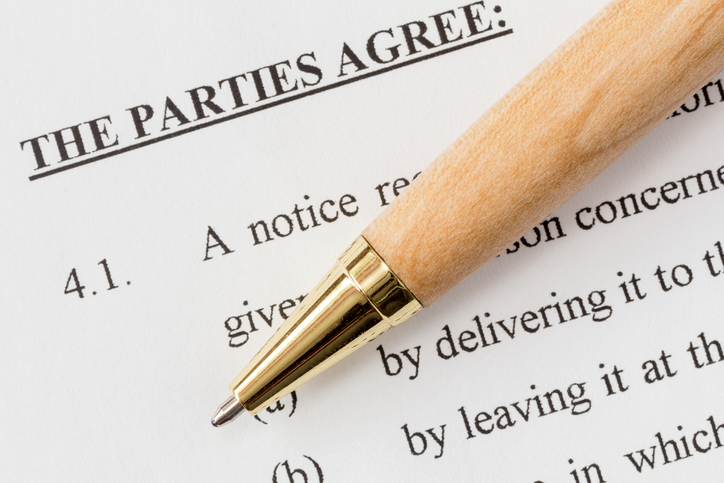 the parties agree contract