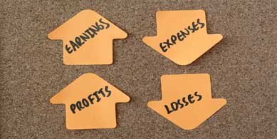 profit and loss on post-its