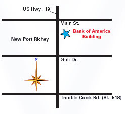Us 19 Florida Map.Map Directions To Score Chapter 439 Office In New Port Richey Florida