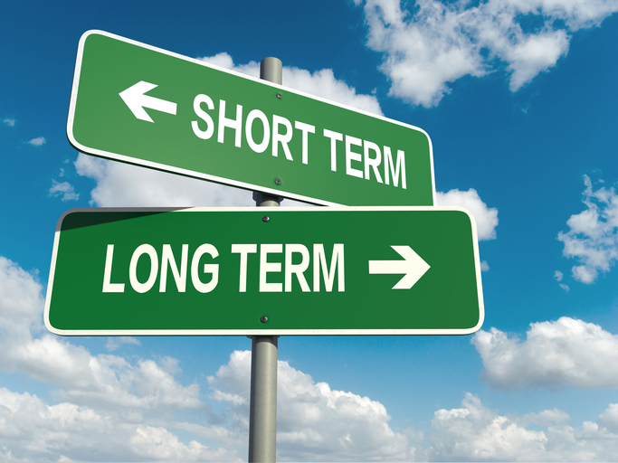 short term long term signs