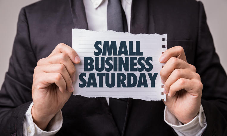 Small Business Saturday sign