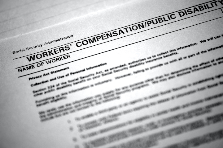 corner of workers compensation insurance form