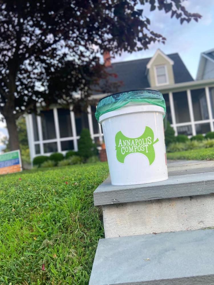 Annapolis Compost co-founder Karl Schrass