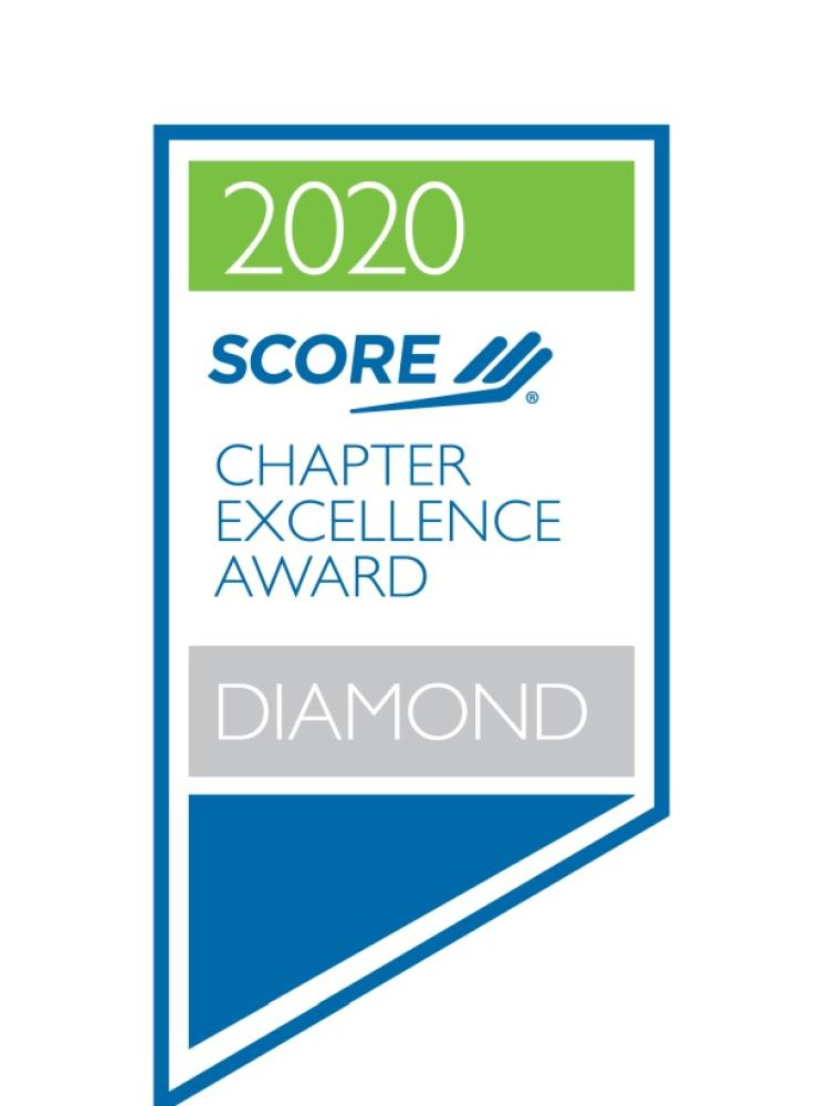 "SCORE Philadelphia Earns Prestigious ""Diamond Leadership Award""  For Service and Operations Excellence in 2020"