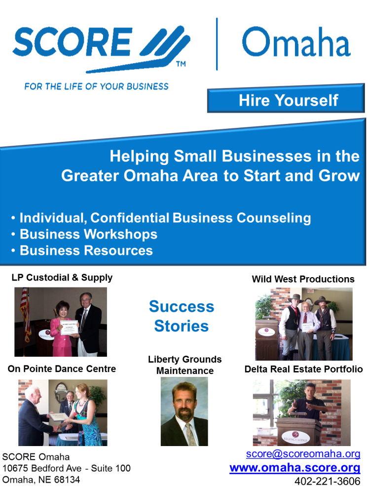 SCORE Omaha Success Stories Brochure