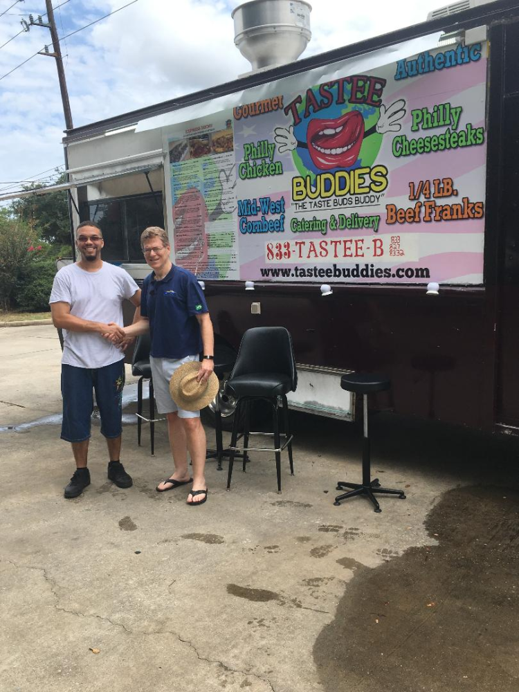 SCORE Client Launches his Food Truck