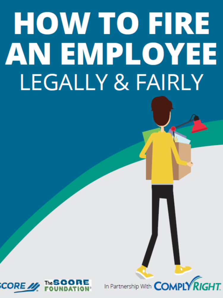 How to fire an employee legally and fairly