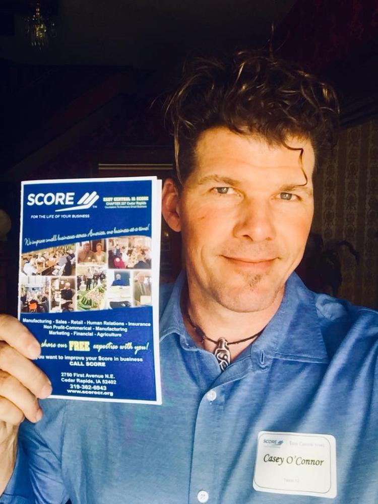 Casey Patrick O'Connor SCORE Volunteer Mentor