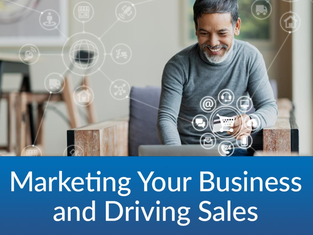 Marketing Your Business and Driving Sales- $25 | 11/15 & 11/17 | 6:30-8PM