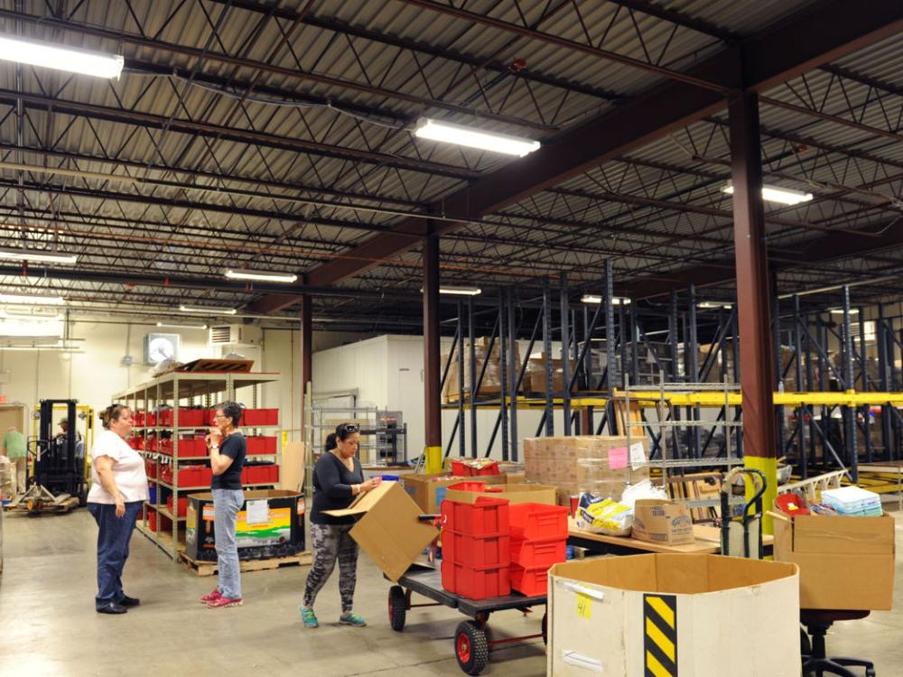 SCORE mentor Dick Hendricks served as the project manager for the new Lancaster County food bank