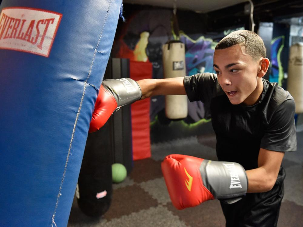 Weightlifting is a tool to help at-risk Lancaster teens at Bench Mark Program