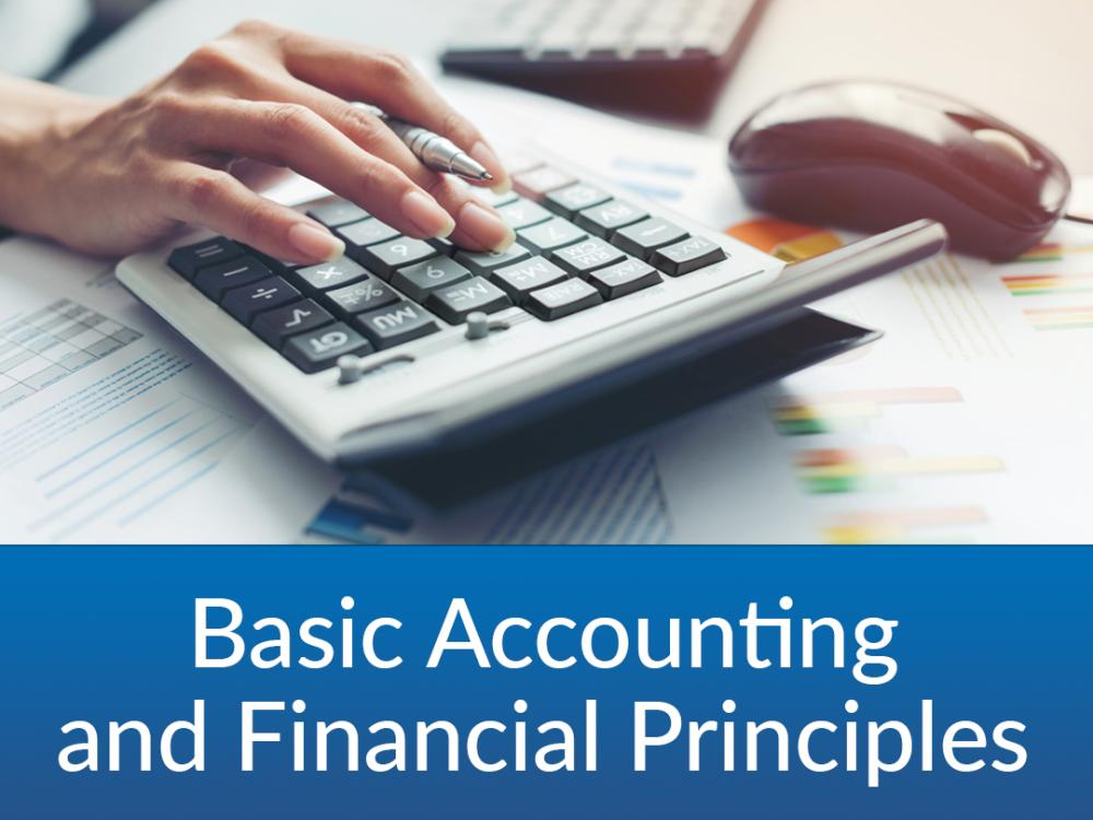 Basic Accounting and Financial Principles- $25 | 11/29 & 12/1 | 6:30-8PM