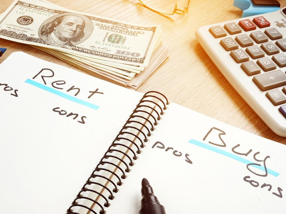 pros and cons of renting or buying a business space