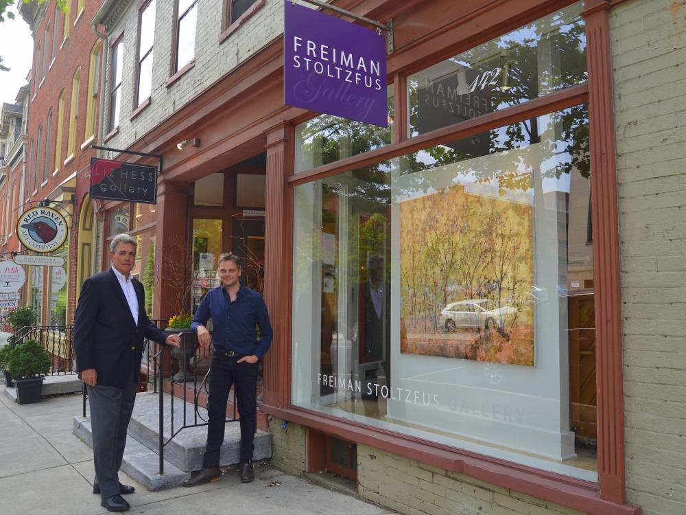 Client   Mentor Profile: Freiman Stoltzfus Gallery