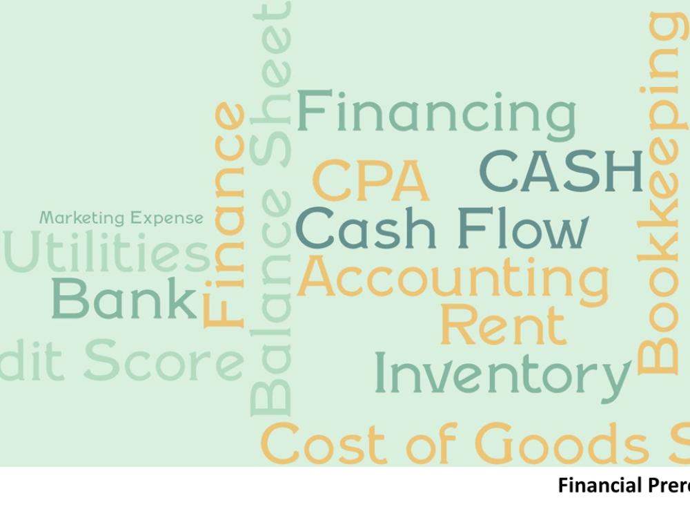 Financial Prerequisite - 10/23/2021