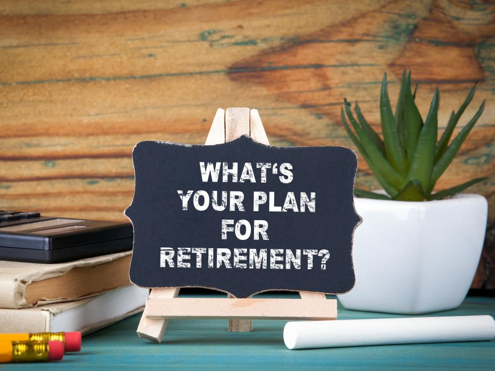 Are you ready for retirement desk sign