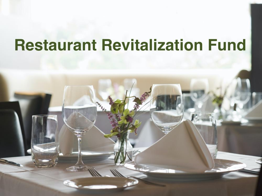 How to Apply for a Restaurant Revitalization Fund Grant