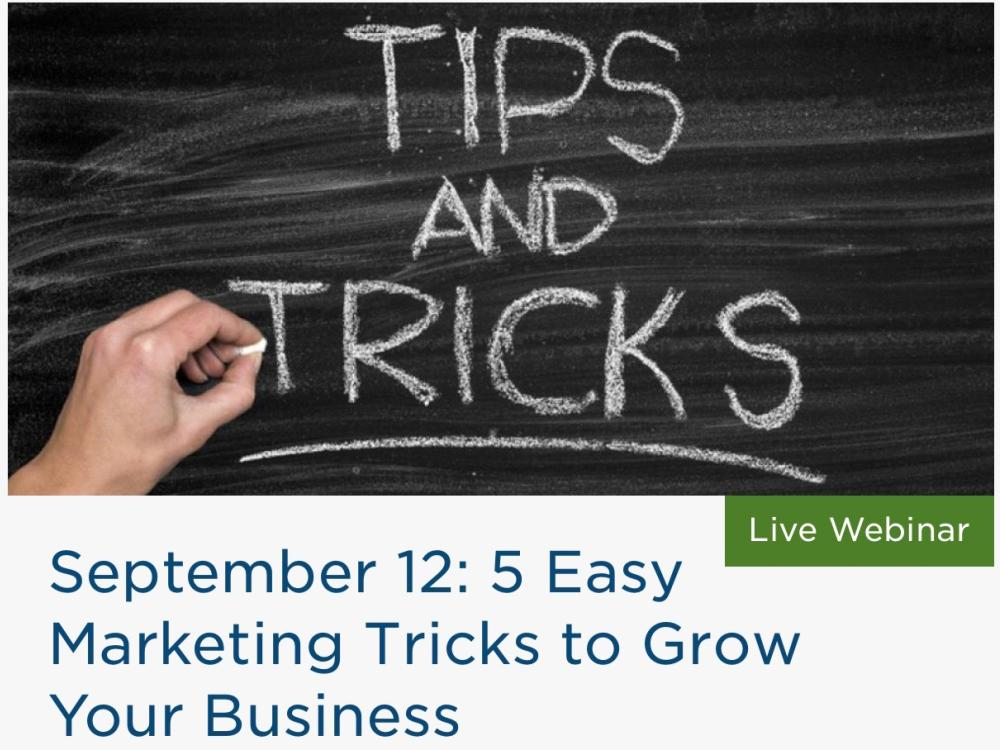 5 Easy Marketing Tricks to Grow Your Business