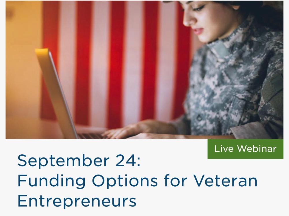 Funding Options for Veteran Entrepreneurs