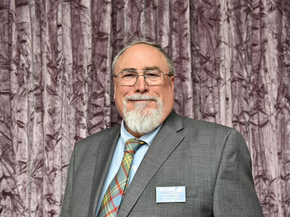 New SCORE Mentor: Jim Weber