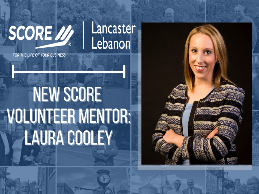SCORE mentor Laura Cooley
