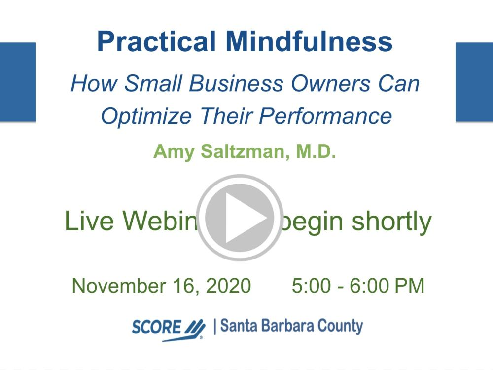 Practical Mindfulness Recorded Webinar