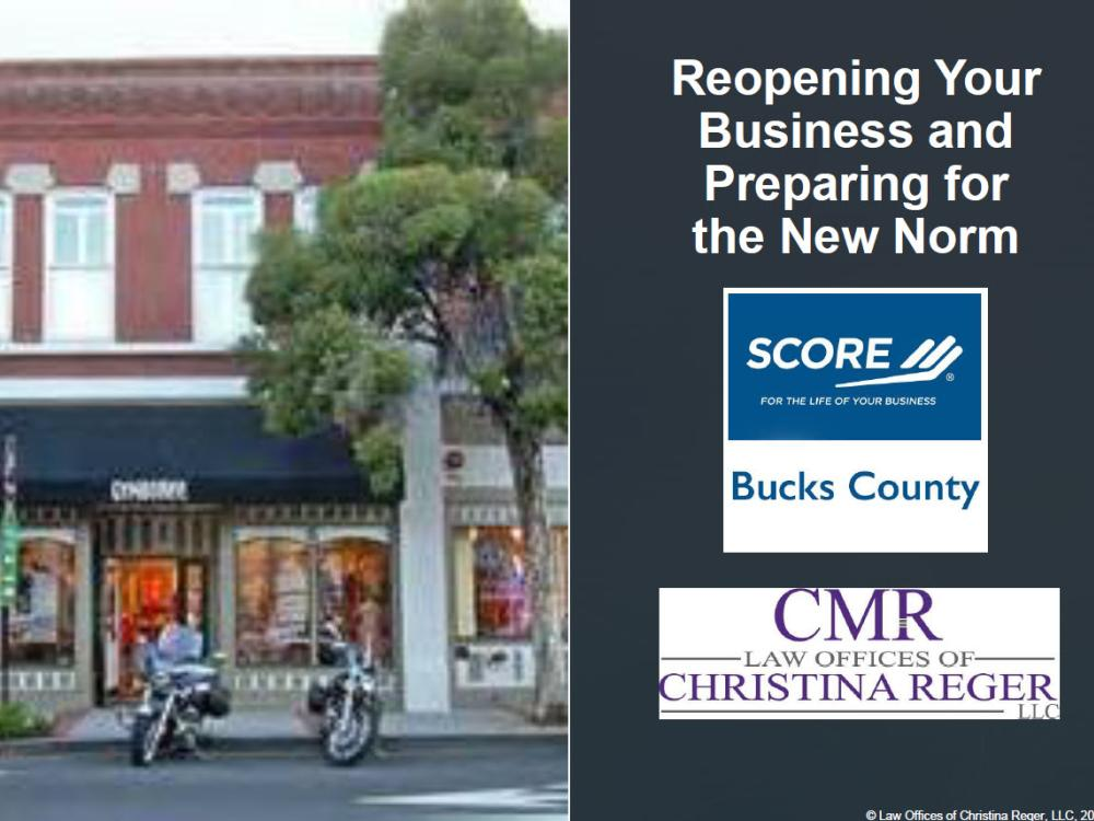 Need Help Reopening Your Business? How to Prepare for the New Norm - eGuide