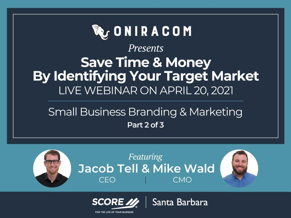 Save Time & Money By Identifying Your Target Market Recorded Webinar