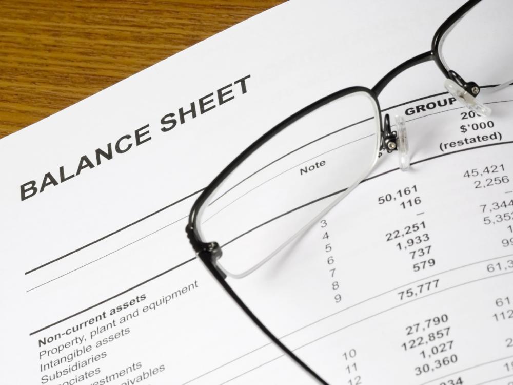 Opening Day Balance Sheet