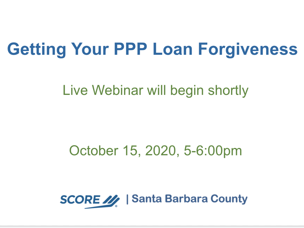 Getting Your PPP Loan Forgiveness   Cómo obtener la condonación de su préstamo del PPP